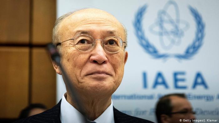 IAEA's chief Yukiya Amano dies at 72