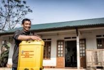 habitat vietnam builds disaster resilient houses for poor vietnamese families