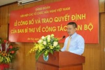 deputy chairman of nam dinh peoples committee appointed as member of vufo partys designated representation