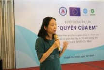 oxfam launches project to support children with hiv in hcm city