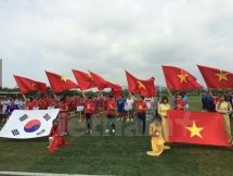 23 teams join vietnamese korean communitys largest football event