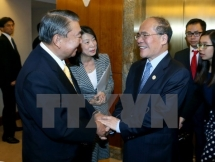 NA Chairman meets Japanese parliament speaker in New York