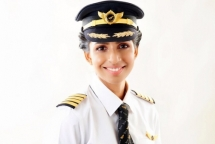 Meet the youngest female commander of a Boeing 777