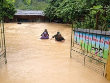 floods kill 18 people cause huge damage to northern mountainous provinces