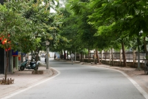 hanoi to pedestrianise west lake street