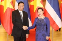 vietnam thailand should keep mutual support at intl parliamentary forums