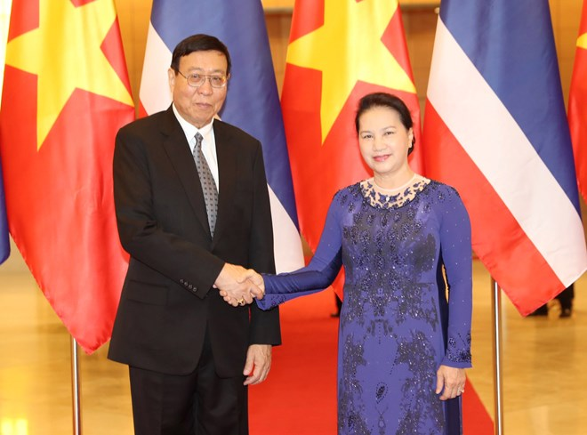 Vietnam, Thailand should keep mutual support at int'l parliamentary forums