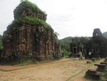 indian experts help vietnam restore my son sanctuary
