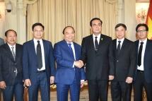 Vietnam, Thailand issue joint statement