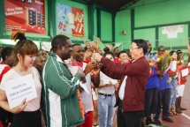 vietnamese in mozambique holds football tournament to mark august revolution