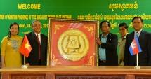 kon tum supports rattanakiri province cambodia in building healthcare education facilities
