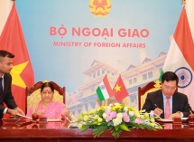 Vietnam, India hold 16th Joint Committee's meeting in Hanoi