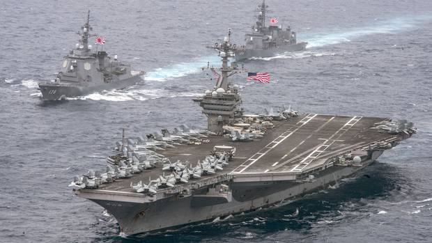 Chinese Rear Admiral suggests sinking 2 US navy aircraft carriers