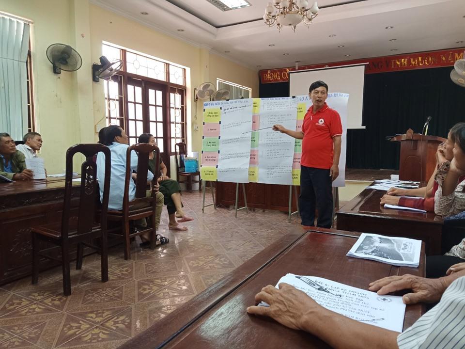 Training workshop for child protection in community-based disaster risk management