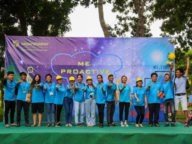 saigonchildren gives young adults the power to be proactive