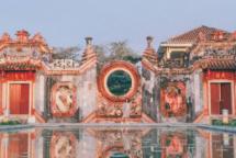 check in at 400 year old tam quan ba mu pagoda in hoi an