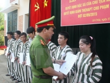 nearly 25000 prisoners granted amnesty