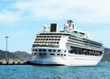 cam ranh international port welcomes first foreign cruise ship