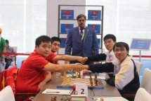 Vietnamese chess players win blitz event at AIMAG