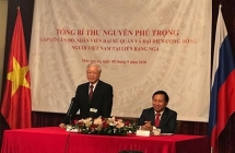 general secretary encourages ov to contribute to vietnam russia ties