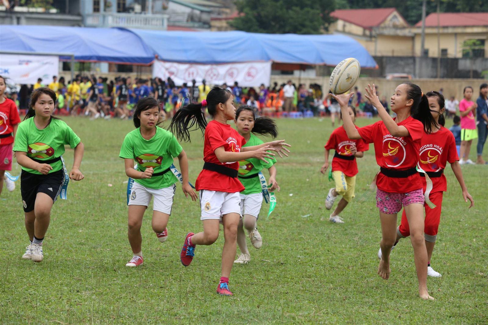 ChildFund Pass It Back: Healthy development of children through sports