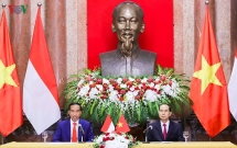 vietnam indonesia presidents look to lift two way trade to usd 10 billion