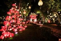colourful lanterns to light up hoan kiem lake area next week