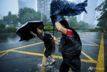super typhoon slams into china after pummelling philippines hong kong