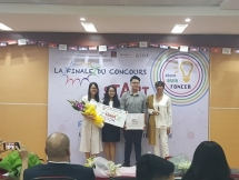 vietnamese students win first prize of francophone startup contest