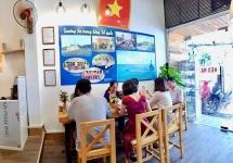 coffee shop brings truong sa to the heart of hanoi