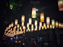 phung hung mural street hanoi lights up for mid autumn festival
