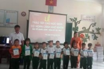 vinh long copi scholarships presented to over 50 needy students