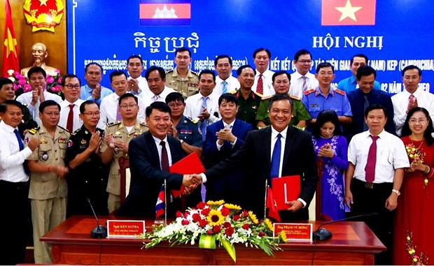 Kien Giang strengthens cooperation with Cambodia's Kep province