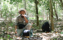 Cluster bomb in rubber plantation safely destroyed in Quang Tri