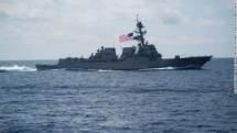 china condemns us for destroyer sailing near vietnams hoang sa archipelago