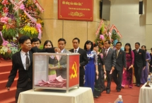 50 member tien giang provincial party executive committee elected