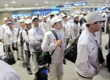 over 10300 vietnamese labourers go to work abroad