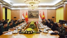 vietnam singapore hold 8th defence policy dialogue