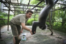 german zoo keeper finds new family in vietnam