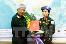 vietnamese peacekeepers make barren bentiu greener