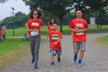 mottainai run for children who are affected by traffic accidents