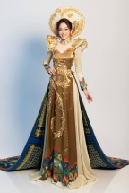 vietnamese representatives national costume for miss grand intl unveiled