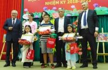 winners of painting contest on vietnam uzbekistan ties awarded