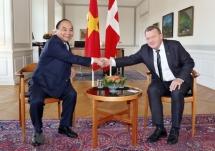 vietnam denmark issue joint statement