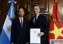 ambassador trusts bright prospect of vietnam argentina ties