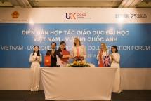 vietnam uk higher education forum held in hanoi