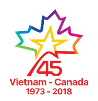 Logo Design Contest on VN-Canada 45th-year ties announces winners
