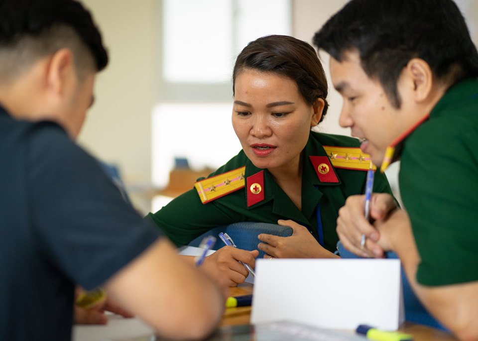 Australia opens English course for Vietnamese UN peacekeepers