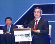 industry 40 summit 2019 and international expo open in hanoi