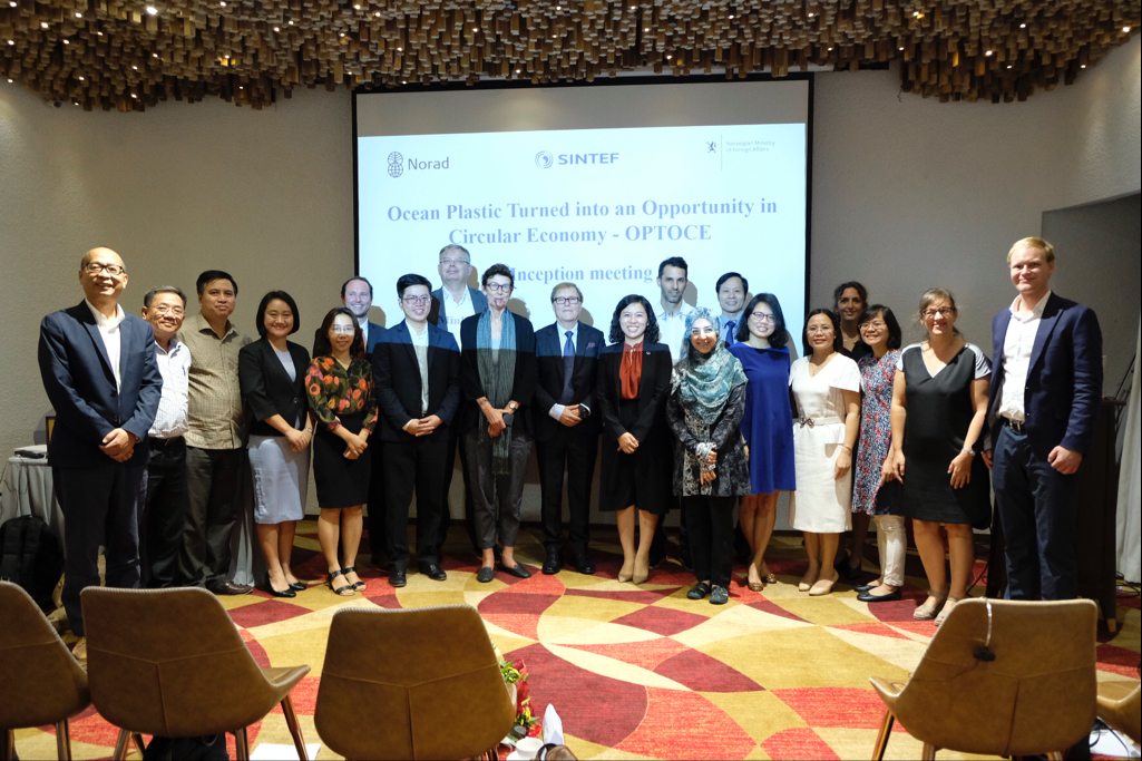 ocean plastics turned into an opportunity in circular economy project launched in vietnam